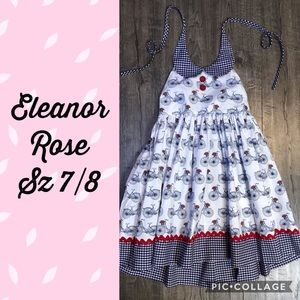 EUC Eleanor Rose Hometown Parade bicycle dress 7/8